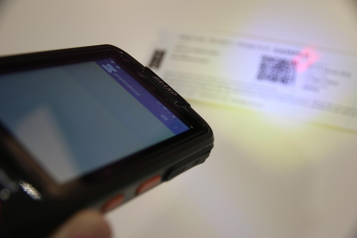 Ticket scanner